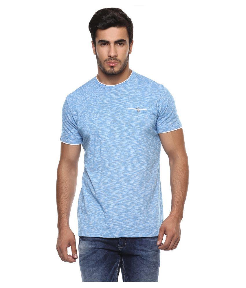 Mufti Blue Round T-Shirt
