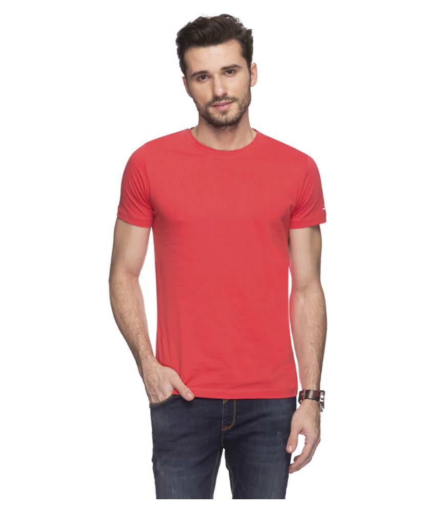 Status Quo Red Round T-Shirt
