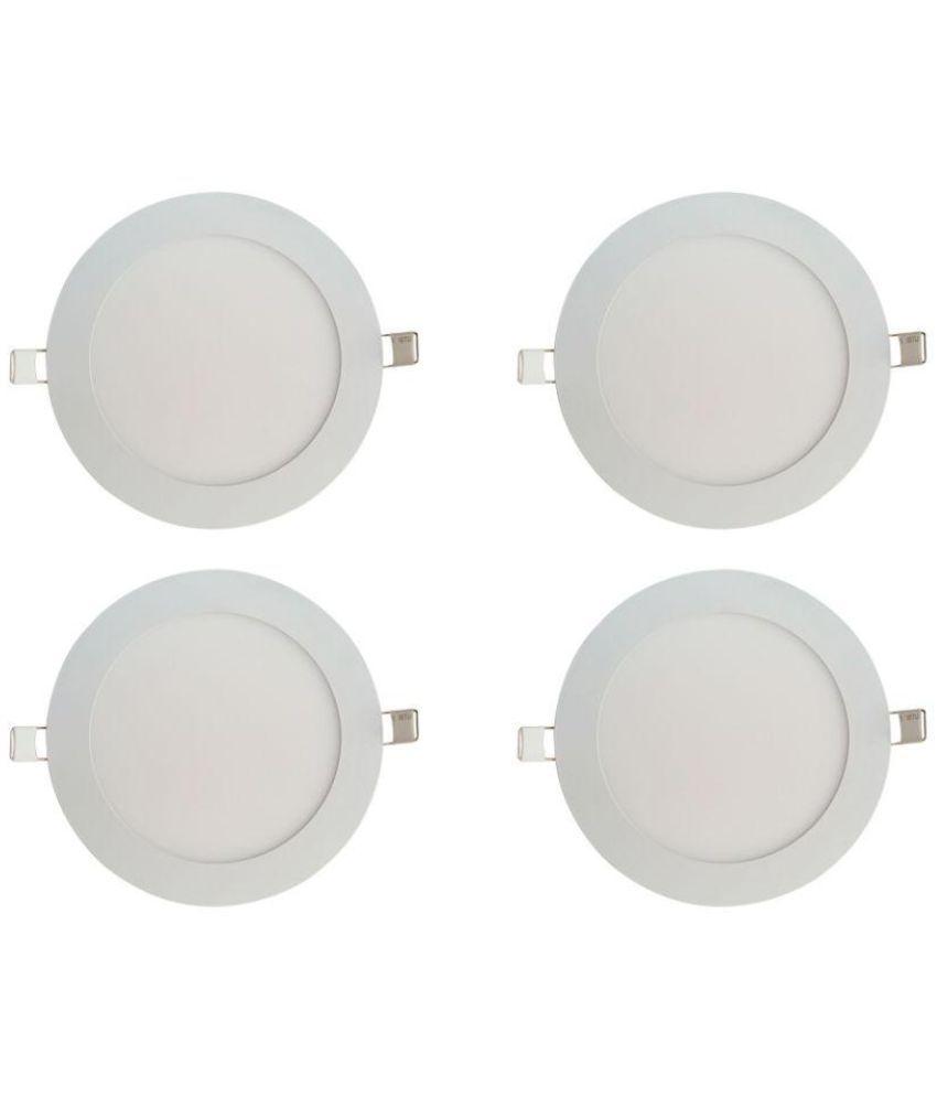 Bene 6W Round Ceiling Light 12 cms.   Pack of 4