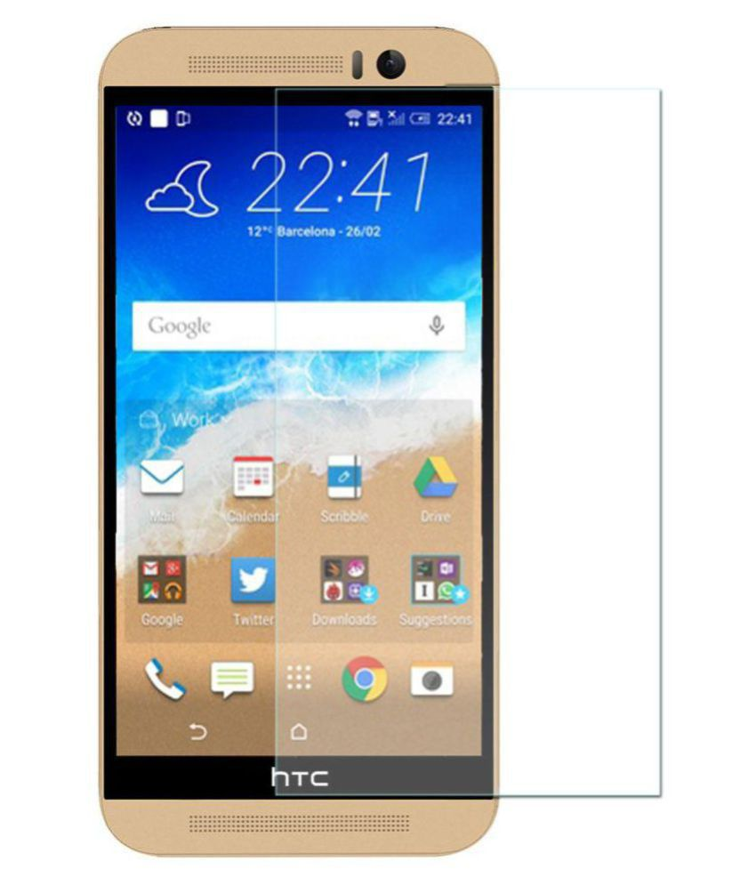 HTC One M9 Tempered Glass Screen Guard By Spectacular Ace