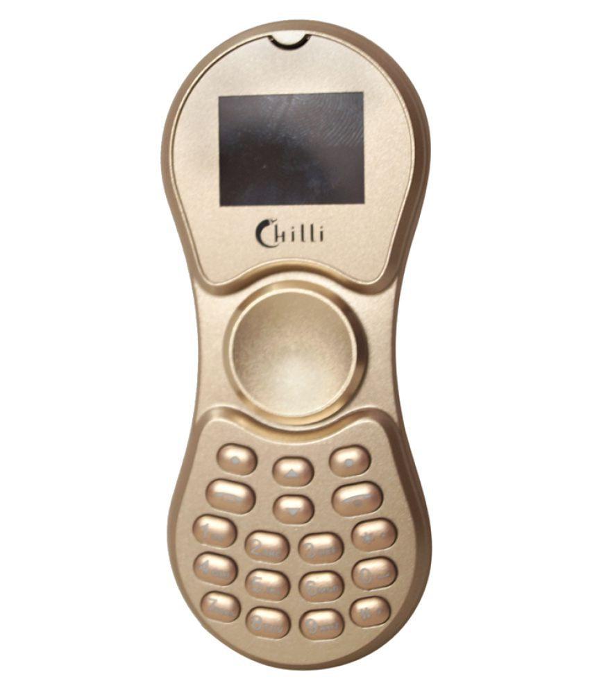 CHILLI-K188-SPINNER-PHONE-GOLD-SDL310655