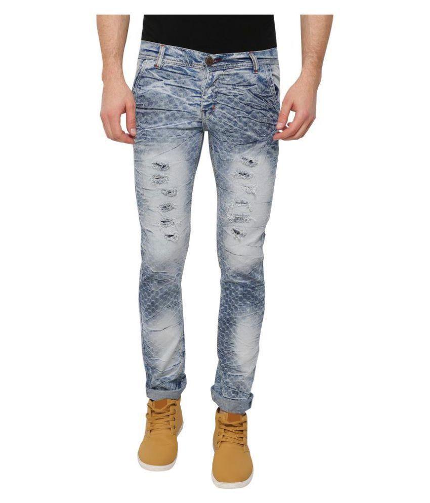 Fashtech creations Blue Slim Jeans
