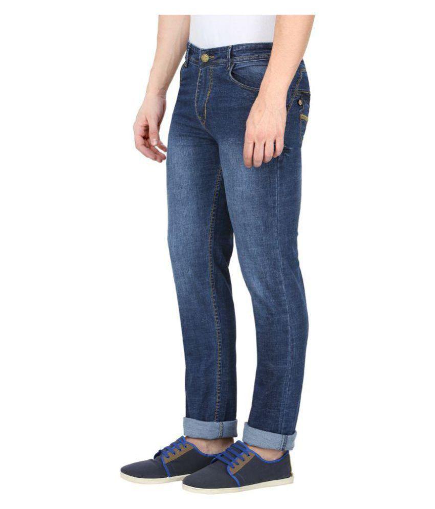 gradely Navy Blue Slim Jeans