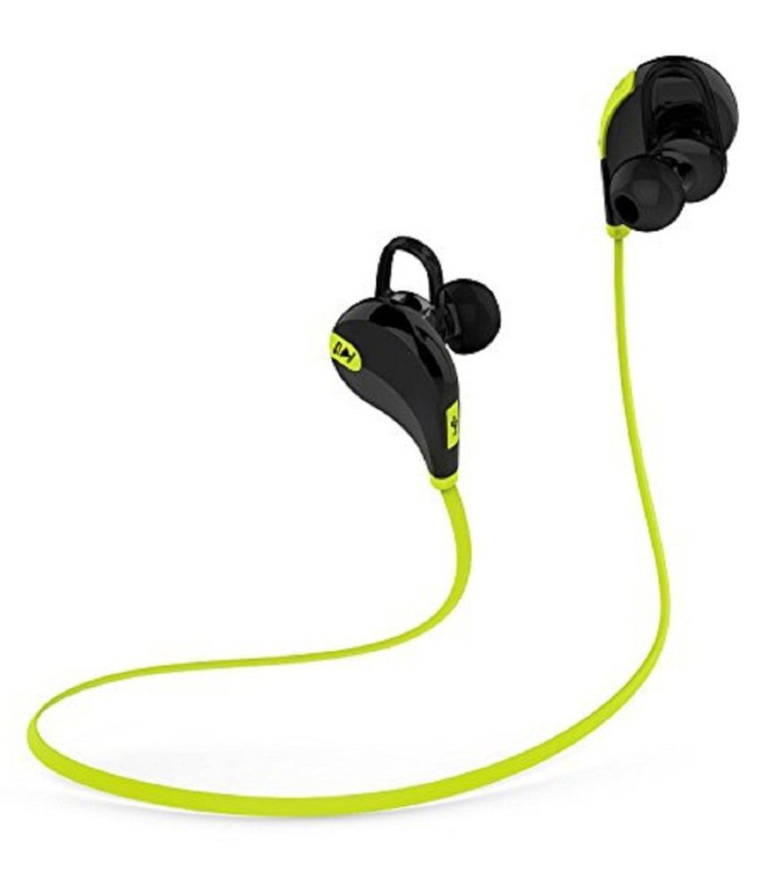 ESTAR Wired Bluetooth Headphone Green