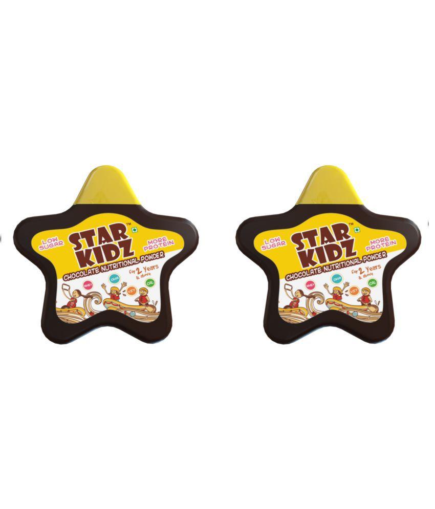 Star Kidz Nutritional Chocolate Powder Health Drink Powder 400 gm Chocolate Pack of 2