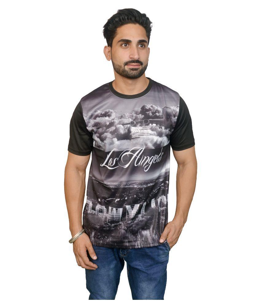Pitaraaa Black Round T-Shirt