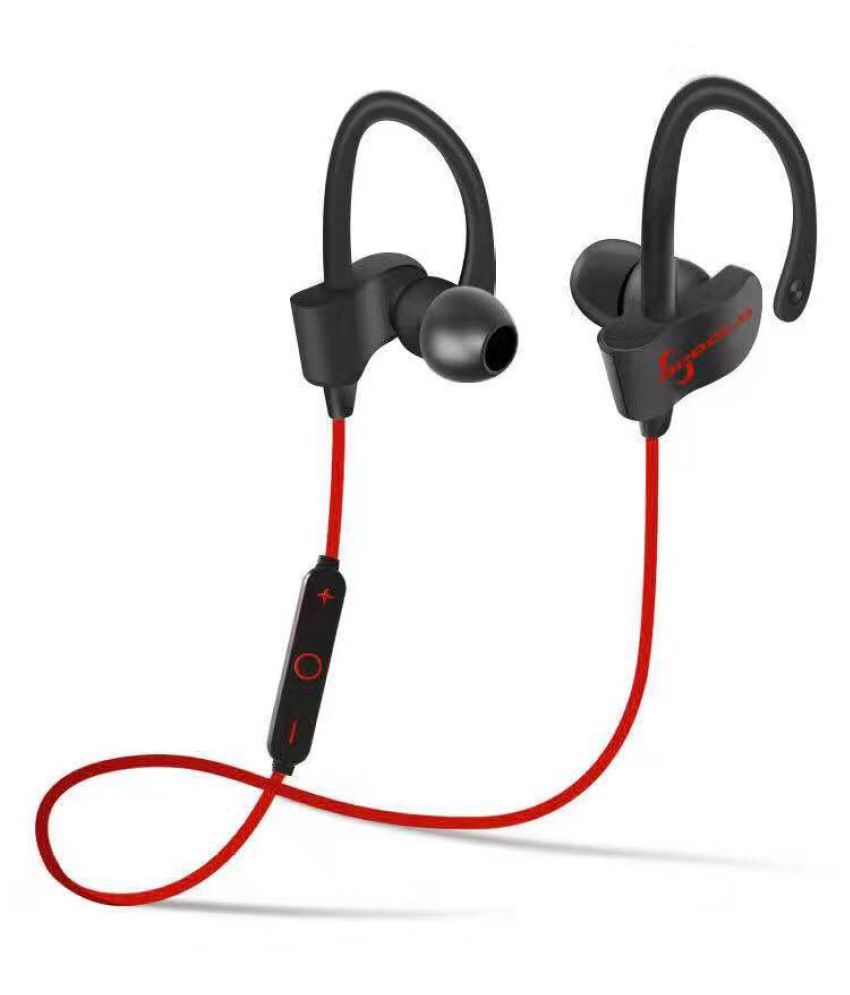 JIKRA  Alcatel One Touch  HD    Bluetooth Headset - Red