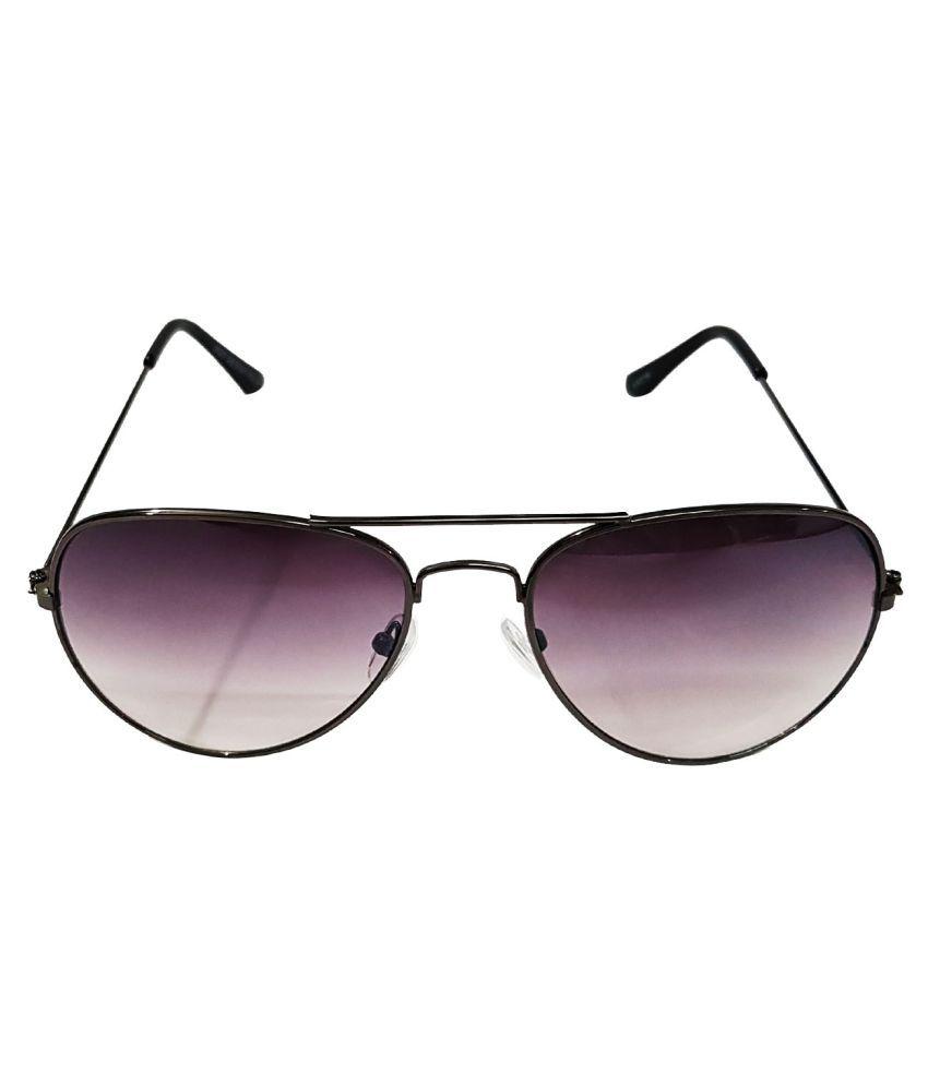 Fashionext Black Aviator Sunglasses ( FashioNable )