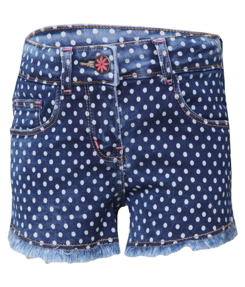 Tales & Stories Girls Polka Dot Shorts