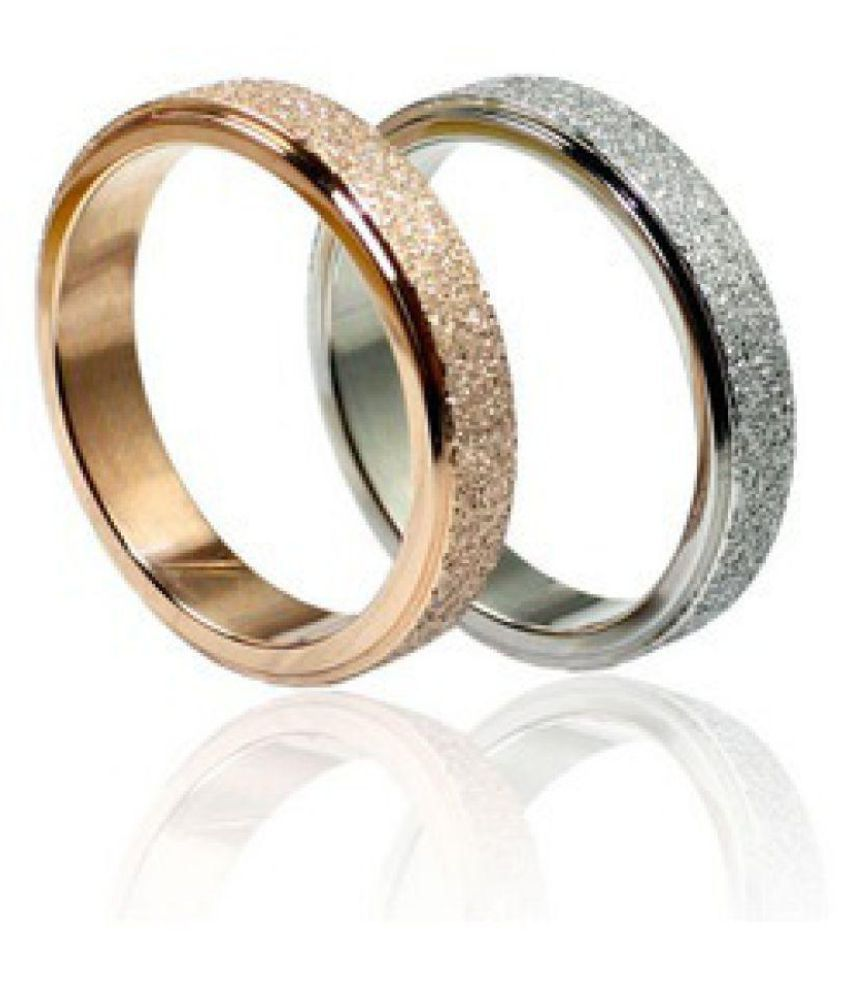 ZIVAHA 92.5 Silver Couple Bands