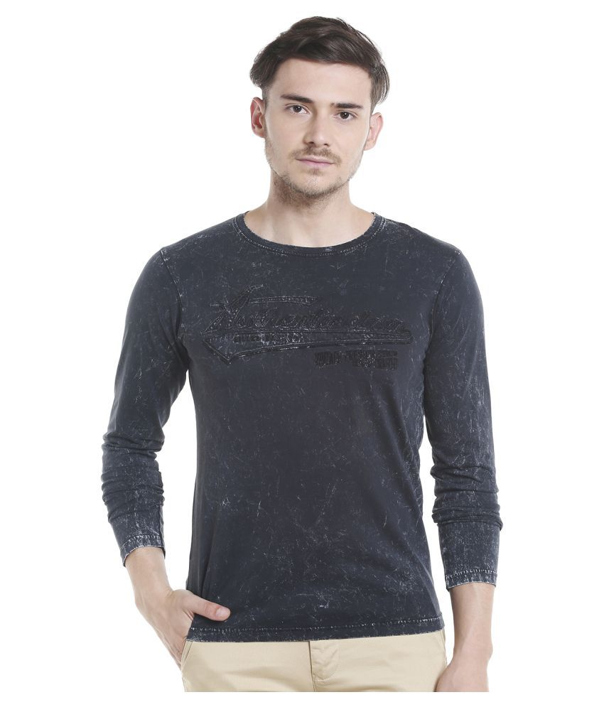 KILLER Black Round T-Shirt
