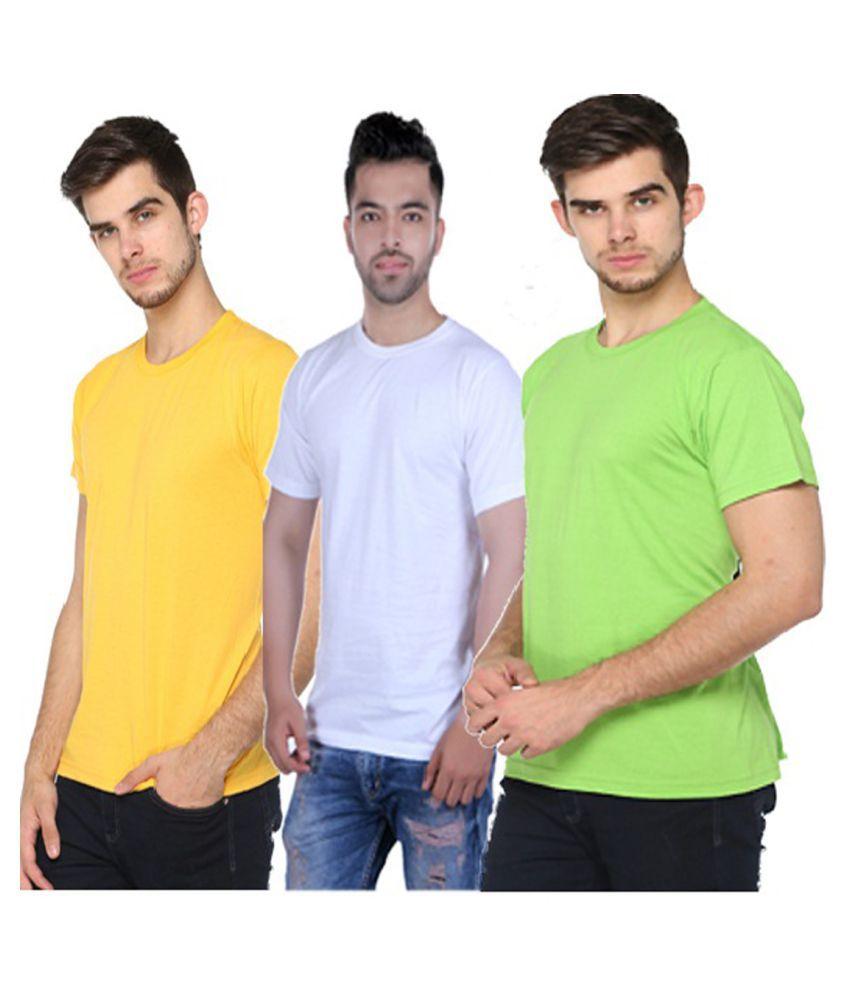 HARBOR N BAY Multi Round T-Shirt Pack of 3