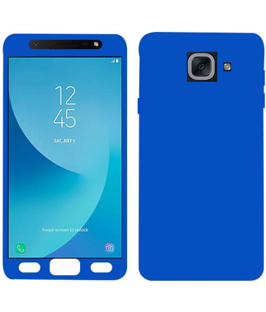 new style 0f0c8 e3e7d Samsung Galaxy J7 Max Plain Cases Kosher Traders - Blue