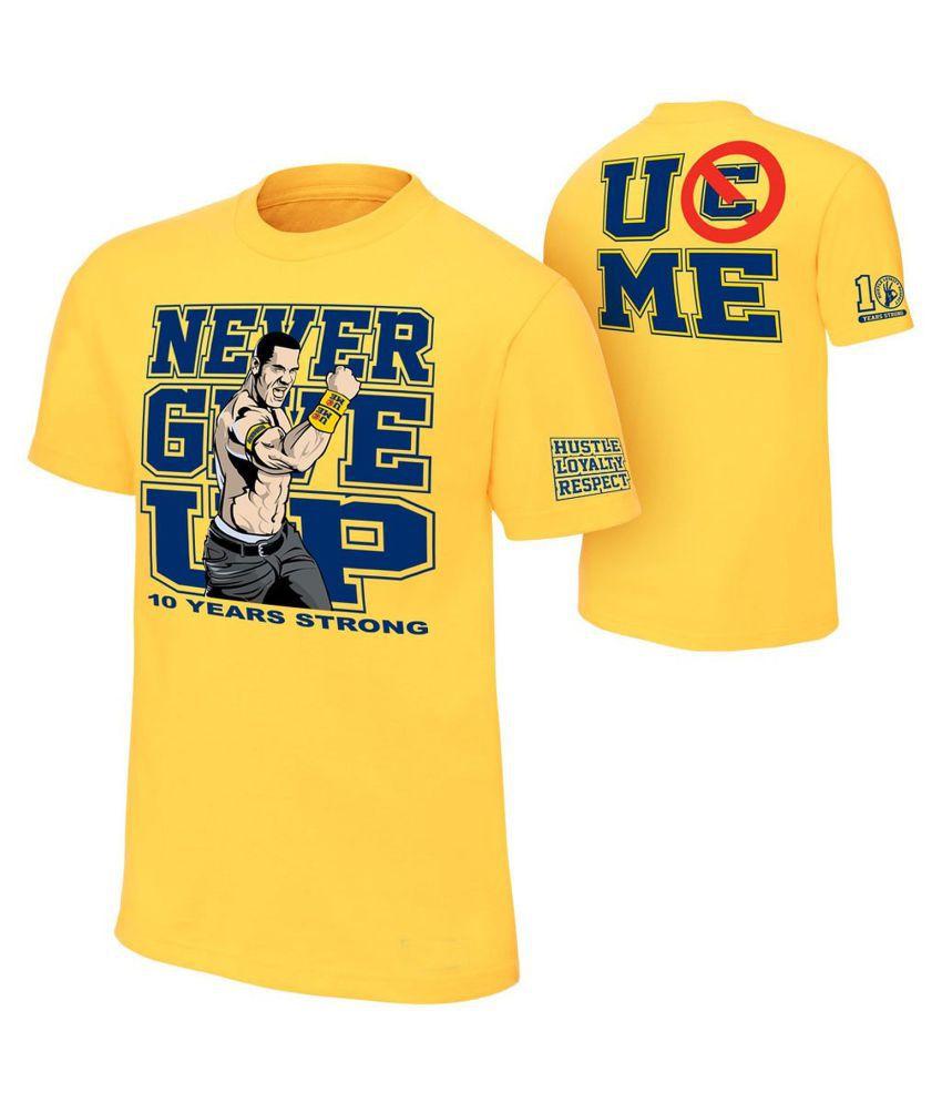 Brandsoon Yellow Round T-Shirt