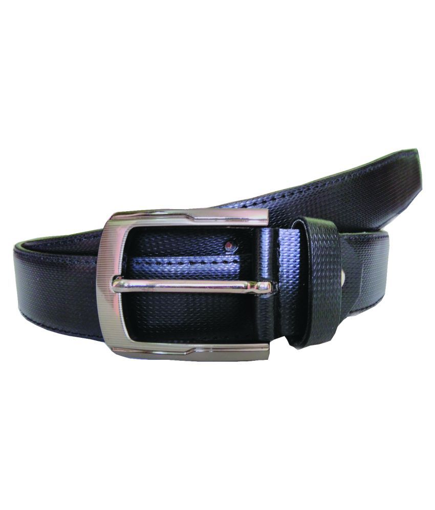 ZA Black PU Formal Belts