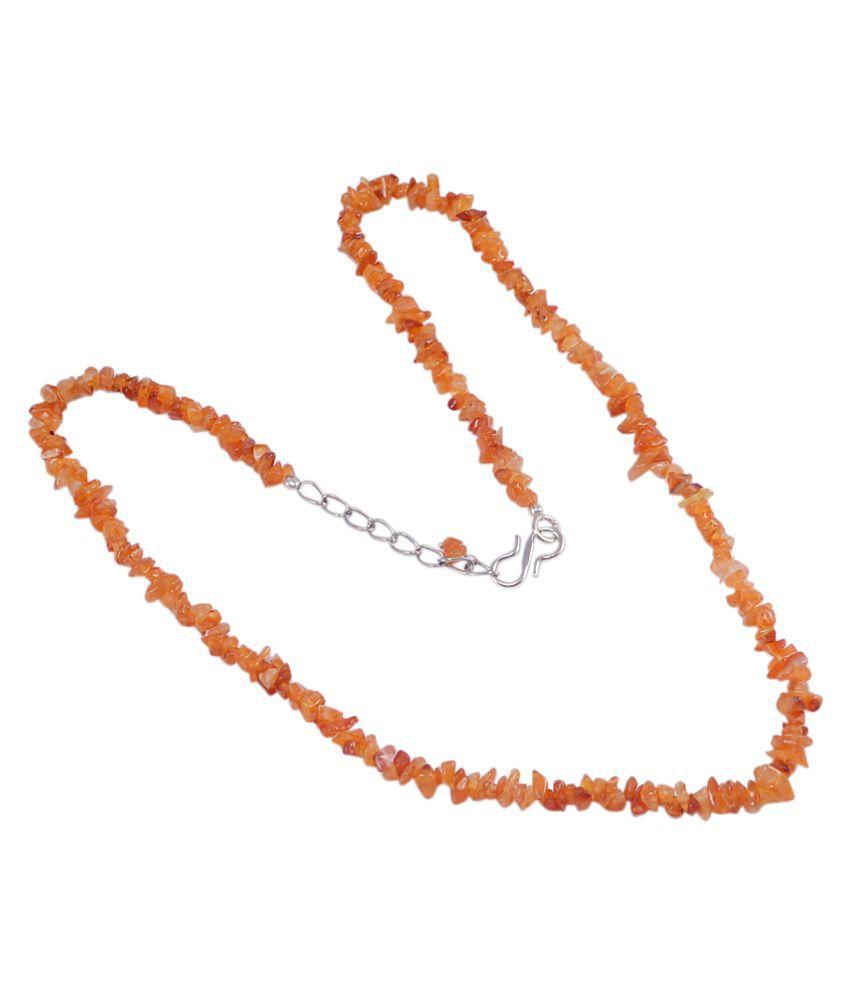 Silvesto India Carnelian Necklace PG-121510