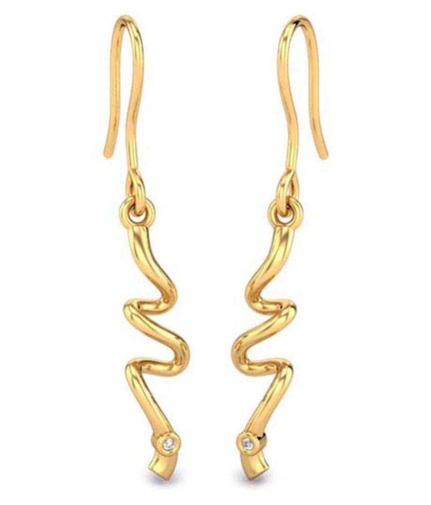 Kataria Jewellers 92.5 BIS Hallmarked Silver Zircon Hangings