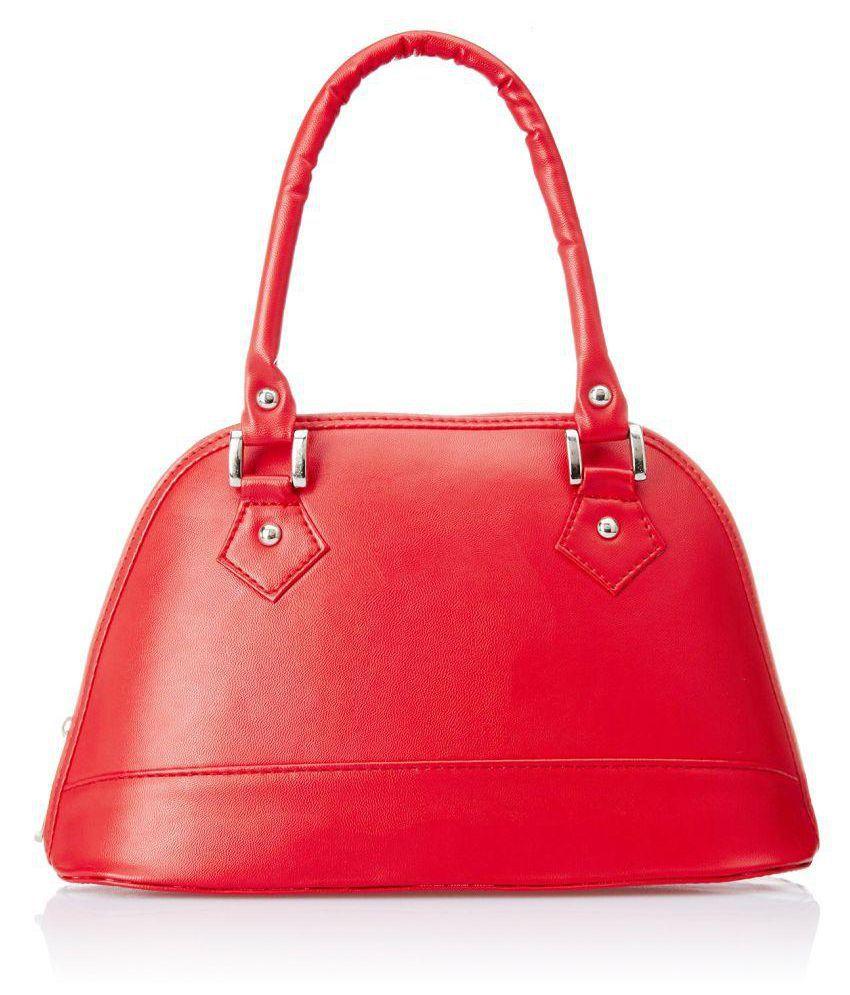 Regalovalle Red P.U. Shoulder Bag
