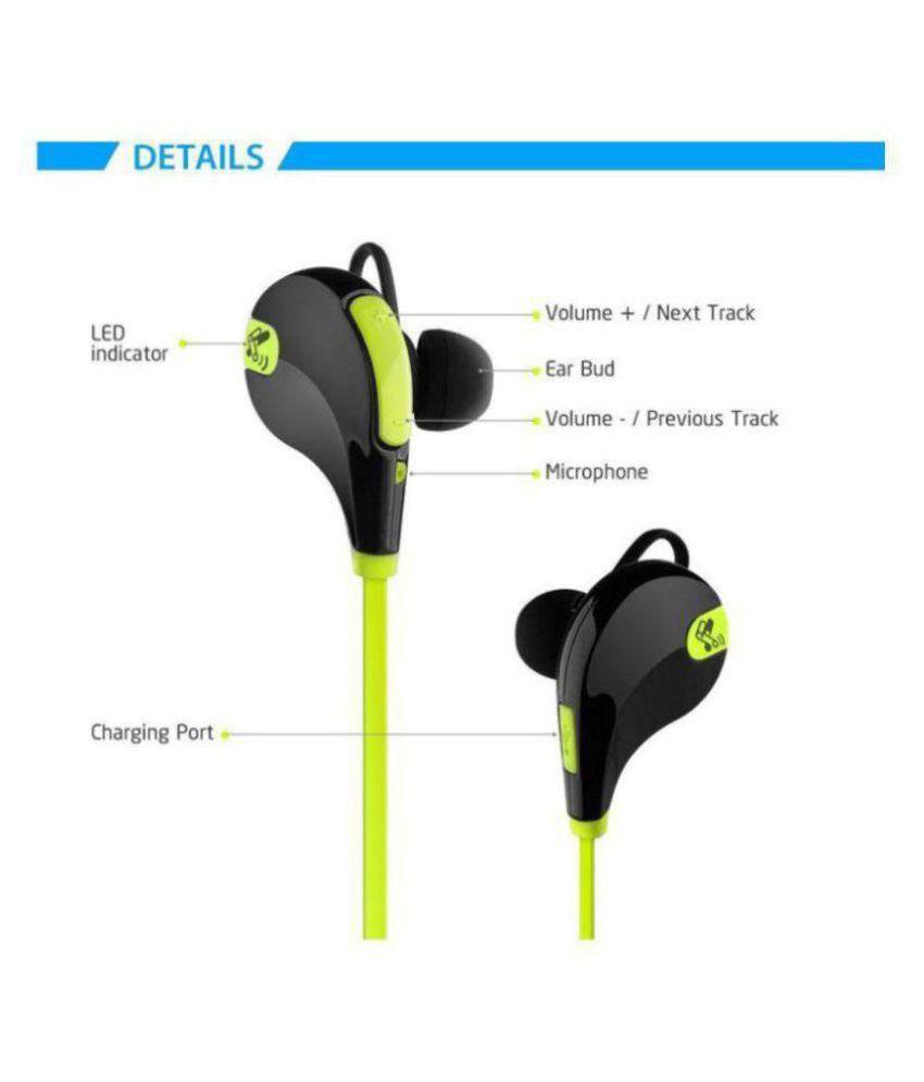 Battlestar Wireless Bluetooth Headphone Green