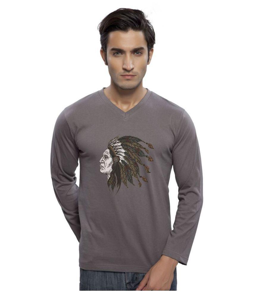 clifton Grey V-Neck T-Shirt