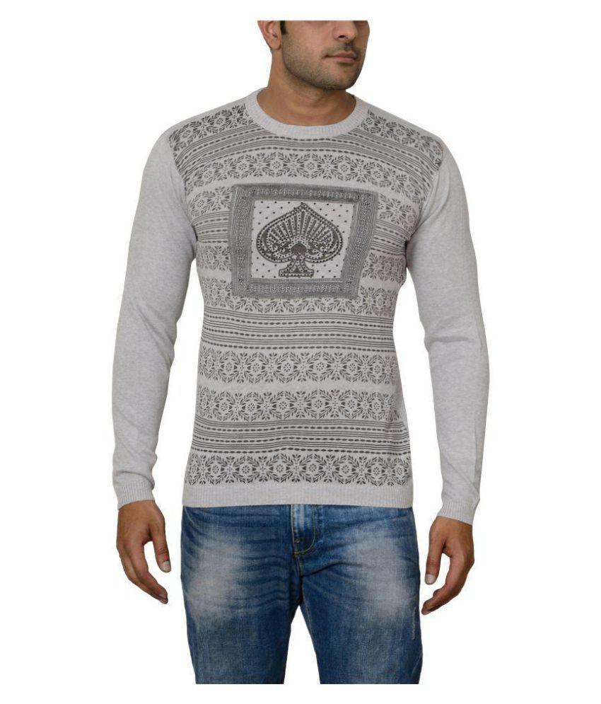 Raab White Round T-Shirt