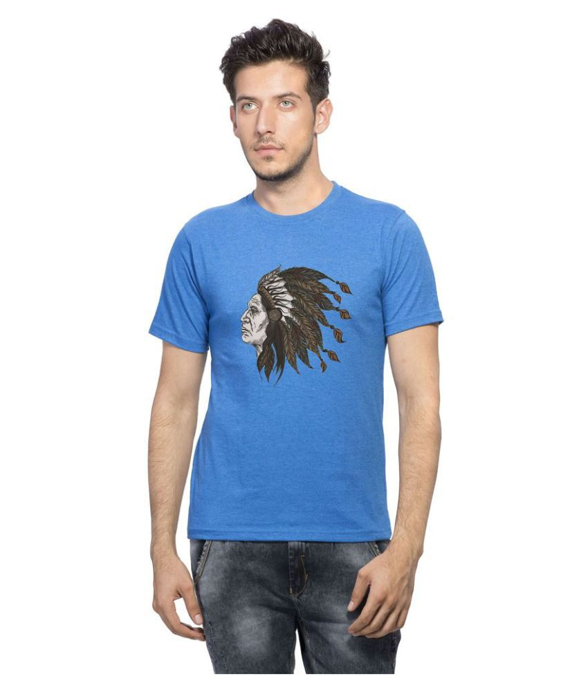 clifton Blue Round T-Shirt