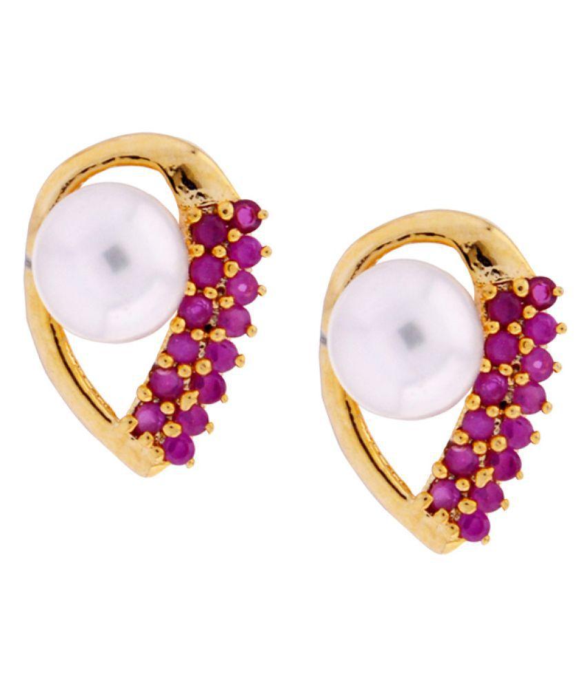 Sri Jagdamba Pearls Precious Earrings