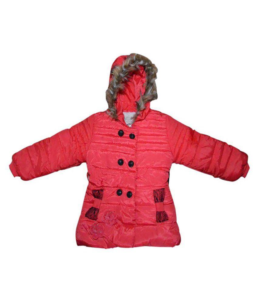 Finery Boy's & Girl's Self Design Winter Jacket
