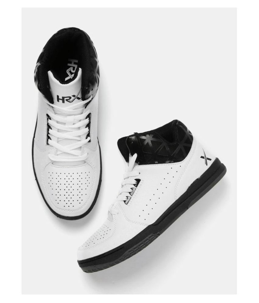 df5510962 HRX Men Sneakers White Casual Shoes - Buy HRX Men Sneakers White Casual  Shoes Online at Best Prices in India on Snapdeal