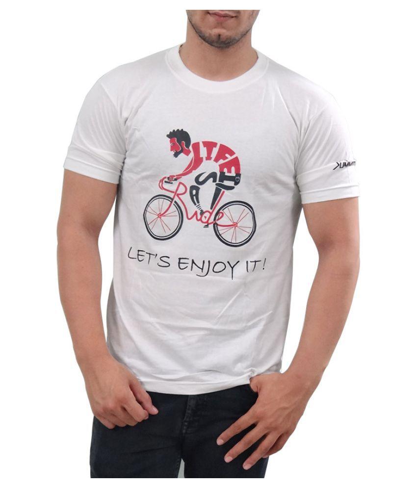 SUMMIT! White Round T-Shirt