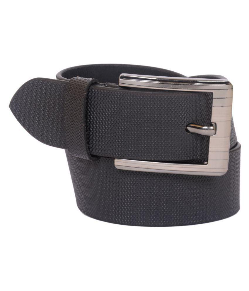 Naysa Brown Leather Formal Belts