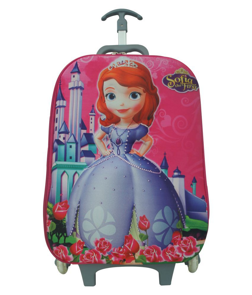 1a7949c63e9 3D Sofia The First Trolley School Bag - Buy 3D Sofia The First Trolley  School Bag Online at Low Price - Snapdeal