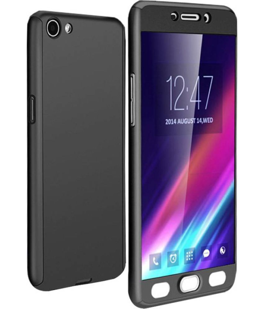 newest 242fb 5d262 Oppo F1s Hybrid Covers IPAKY - Black