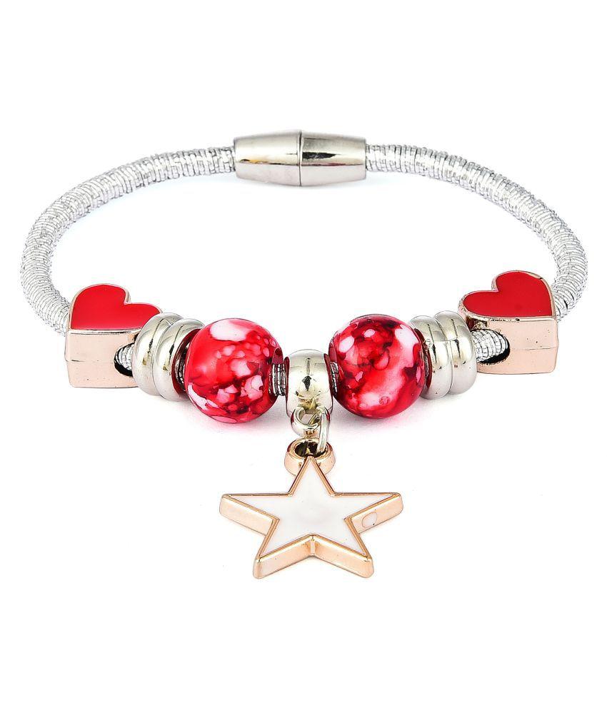 Prita's Designer Pandora White Charm Bracelets For Girls and Women