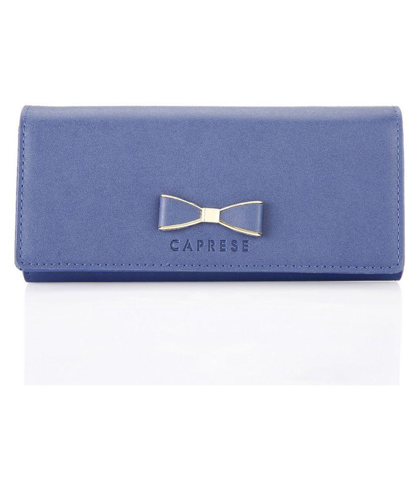 Caprese Blue Wallet