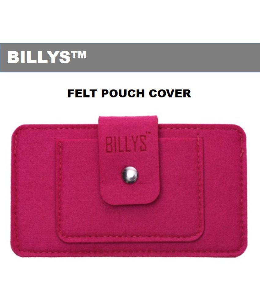 Karbonn A4+ Flip Cover by Shopme - Pink