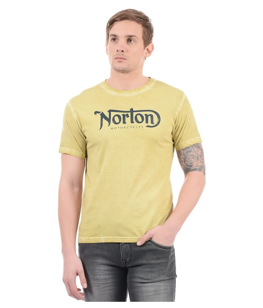 Pepe Jeans Yellow Round T-Shirt