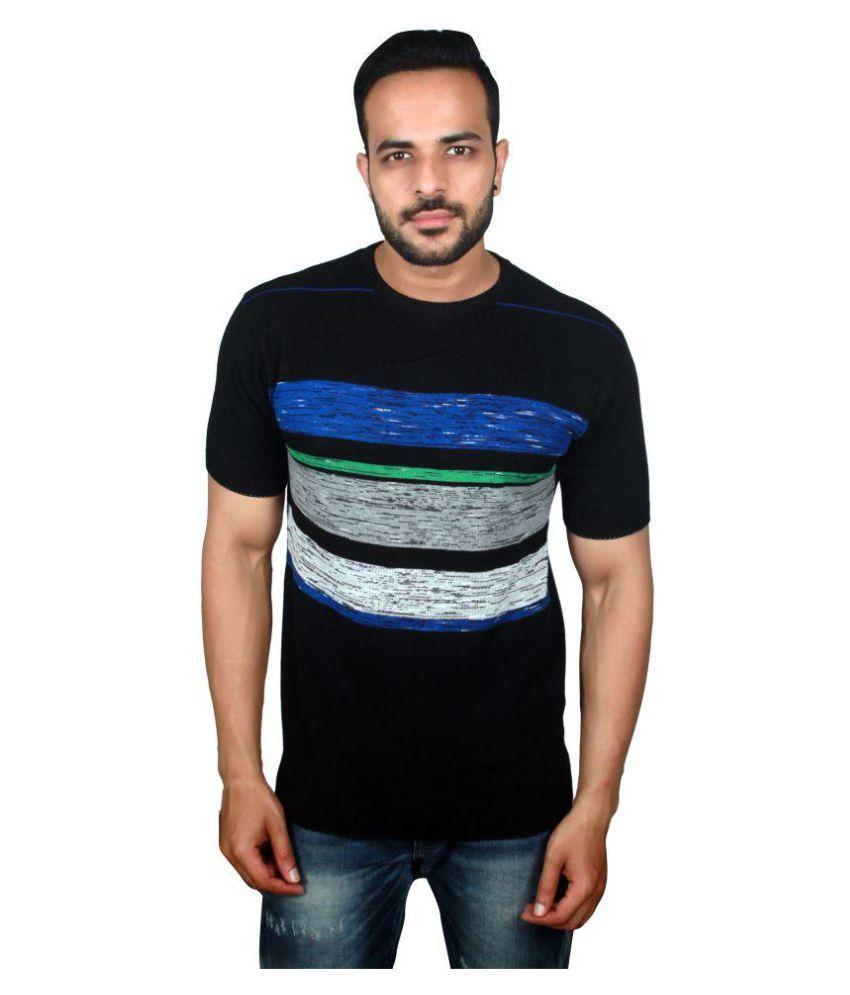 Raab Black Round T-Shirt