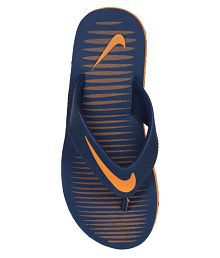 Nike Nike Chroma 5 Blue Thong Flip Flop
