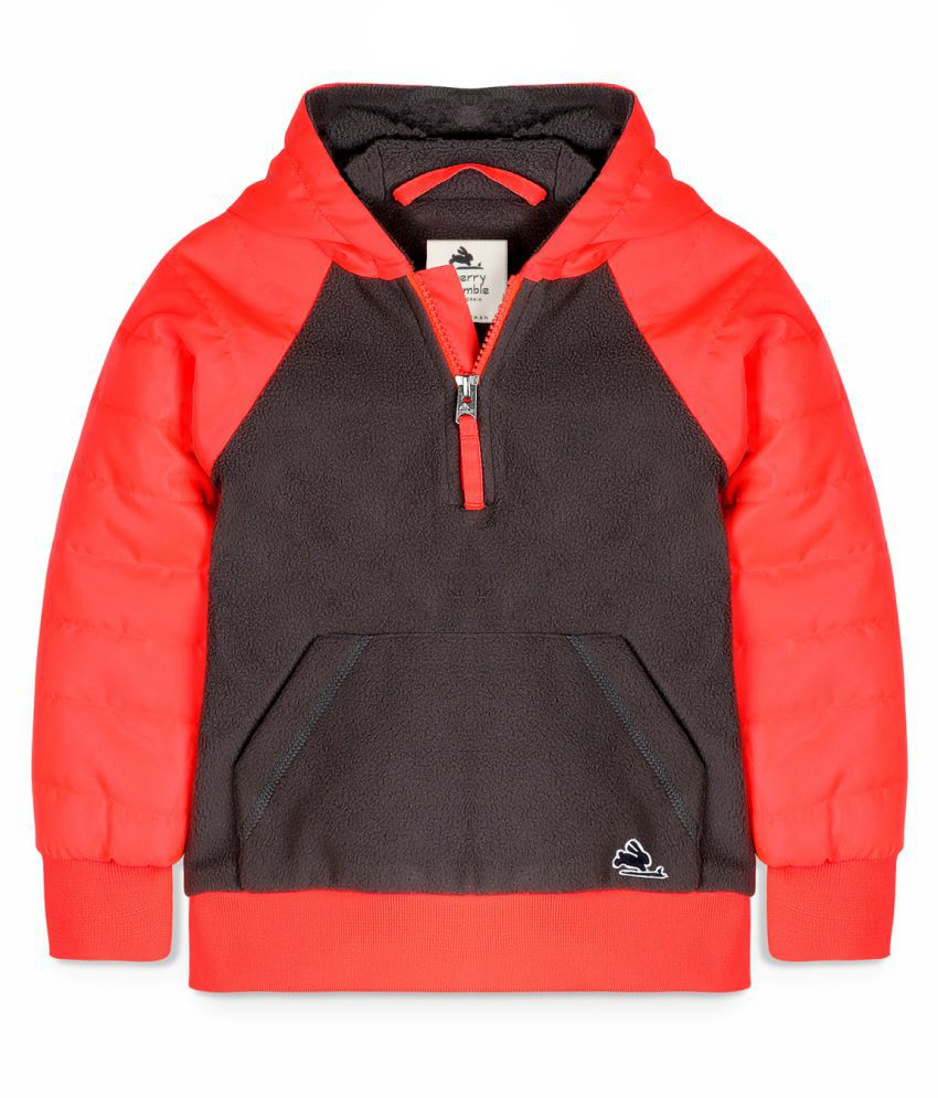 Cherry Crumble Colorblock Pull-On Jacket