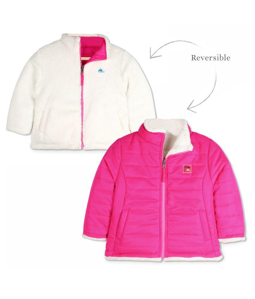 Cherry Crumble Reversible Sherpa Jacket