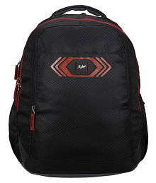SKYBAGS FOOTLOOSE VIBER 02 SCHOOL BAG BLACK