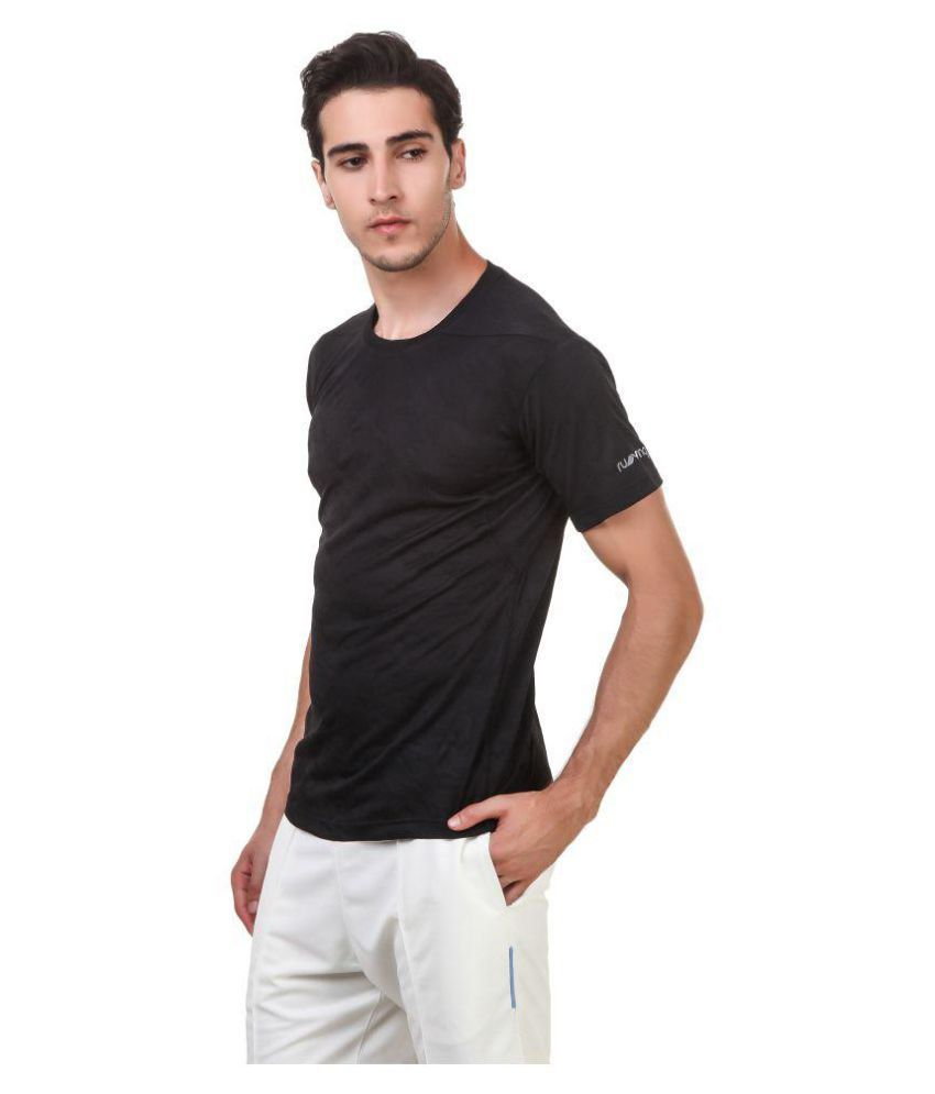 Nivia Black Polyester Jersey