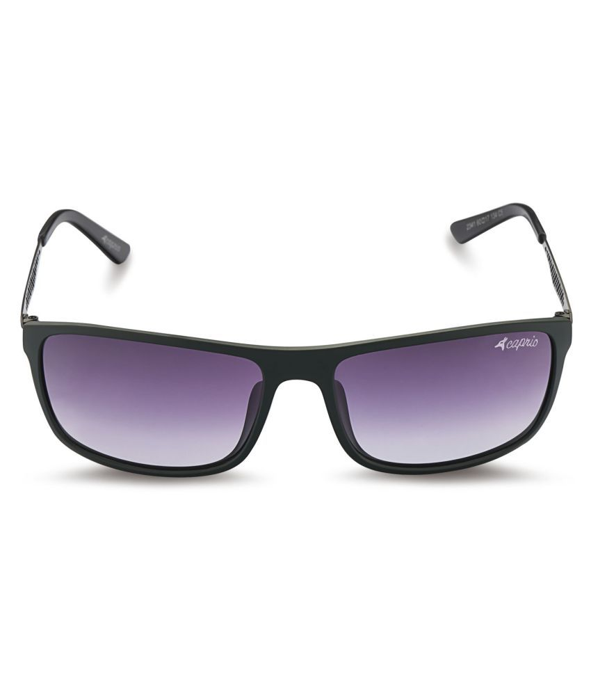 Caprio Brown Rectangle Sunglasses ( 63GG )