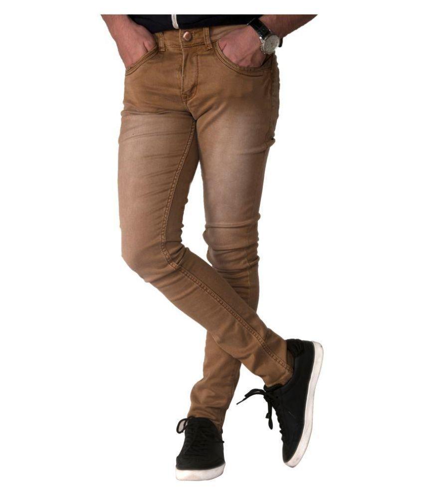 Fuel Tan Slim Jeans