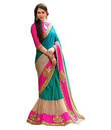Zofey Bollywood Designer Sarees Multicoloured Georgette Saree