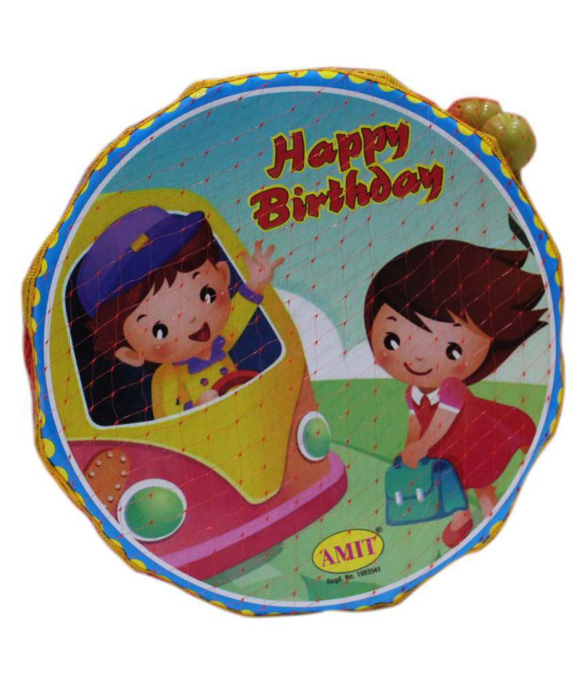 Toys Factory Happy Birthday Drum For Kids