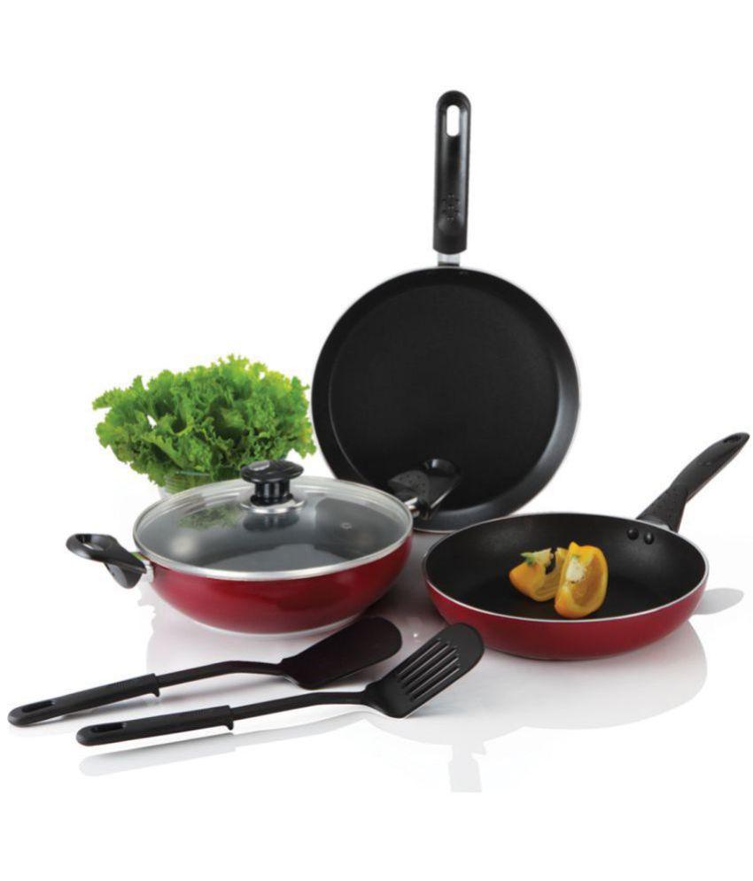 Alda Non Stick Cookware Gift Set 6 Piece Cookware Set