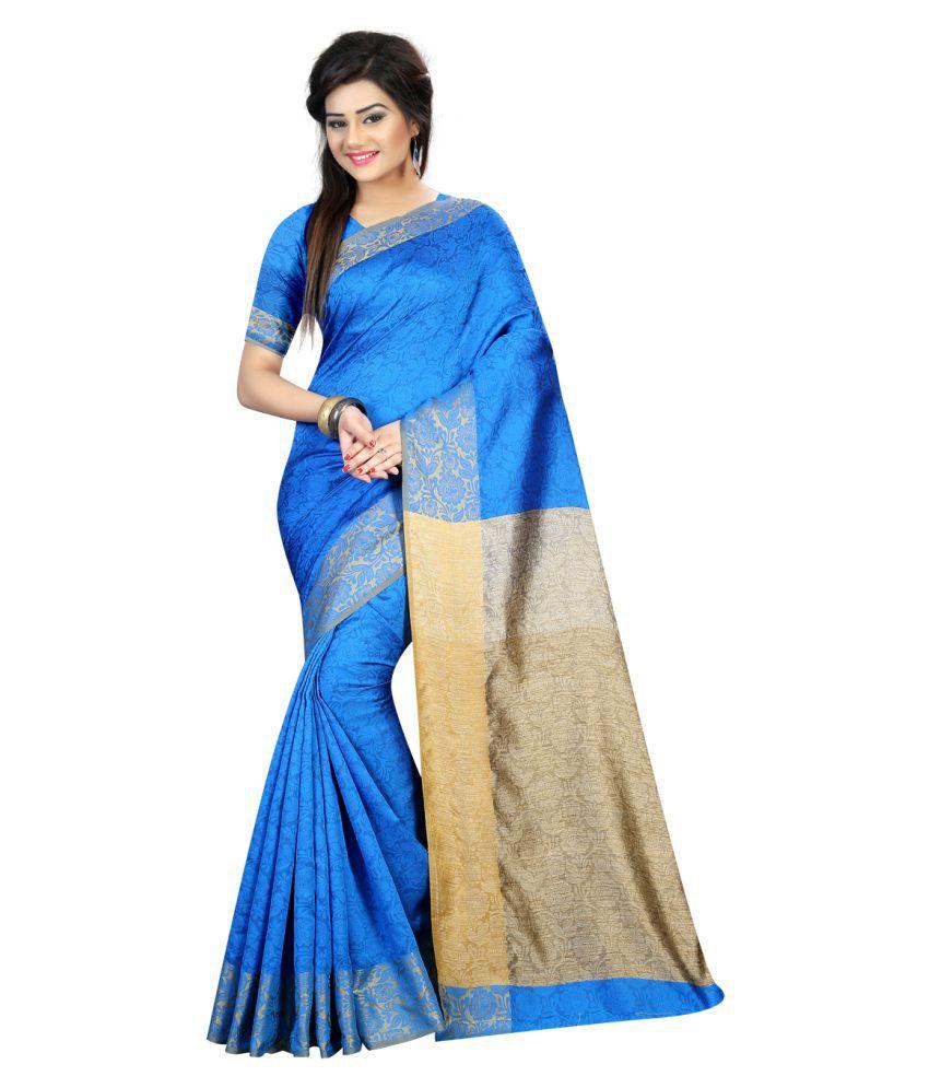 Khwaab Enterprise Multicoloured Banarasi Silk Saree