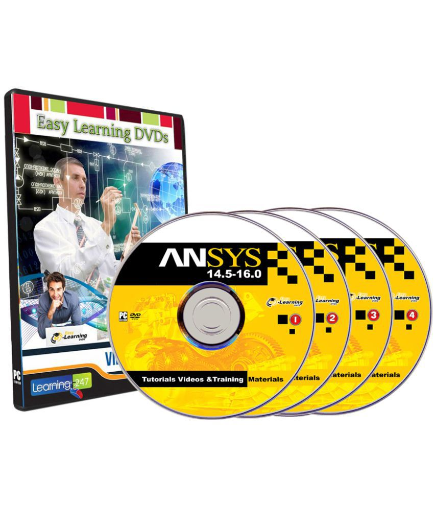 ANSYS 14 5-16 0 Tutorials, Tutorial Videos And Training materials on 4 DVDs  DVD